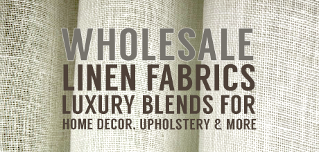 Linen Fabric Upholstery Drapery Wholesale