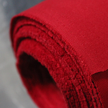 Twill Fabric Wholesale Roll Red 8oz 60inch